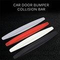 1 пара бампер автомобиля углеродного волокна протектор ограждающий угол царапины резиновые Стикеры