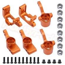 Para hpi bala st 3.0 mt wr8 rtr kit de alumínio junta direção c hub carrier substituir #108077 108078 108021 101208 atualizar peças