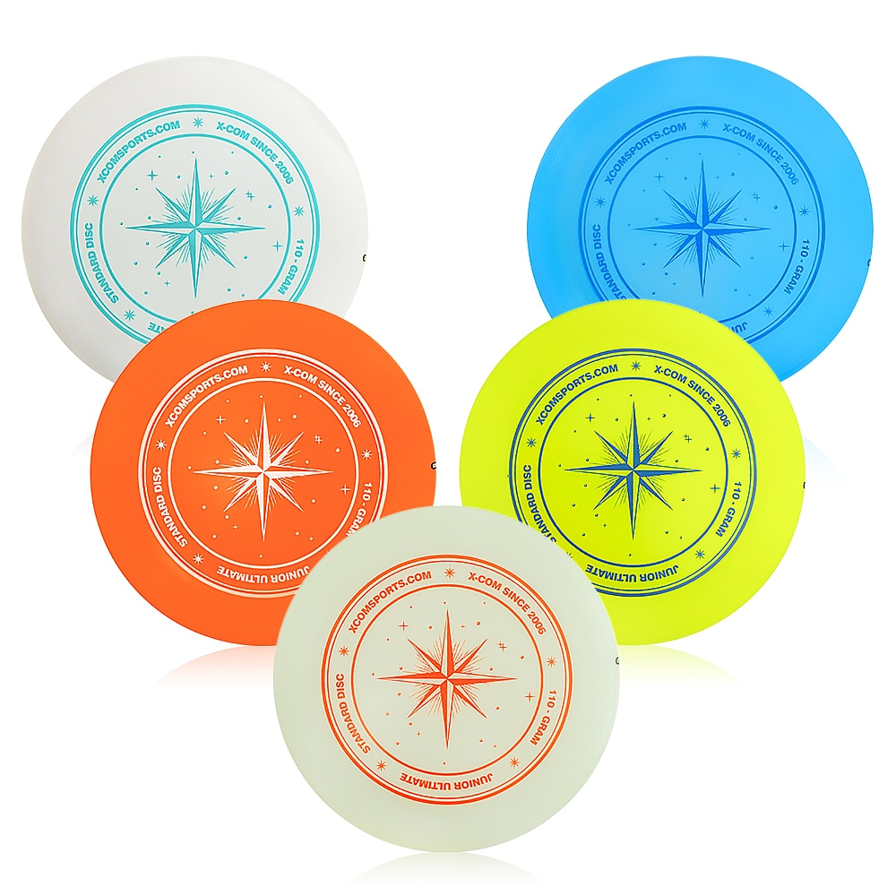 Frisbee 9.3 Inch 110g Professional Flying Disc Outdoor Play Toy Sport Disc For Juniors Family Water Sports Boys Kids Gift Kids
