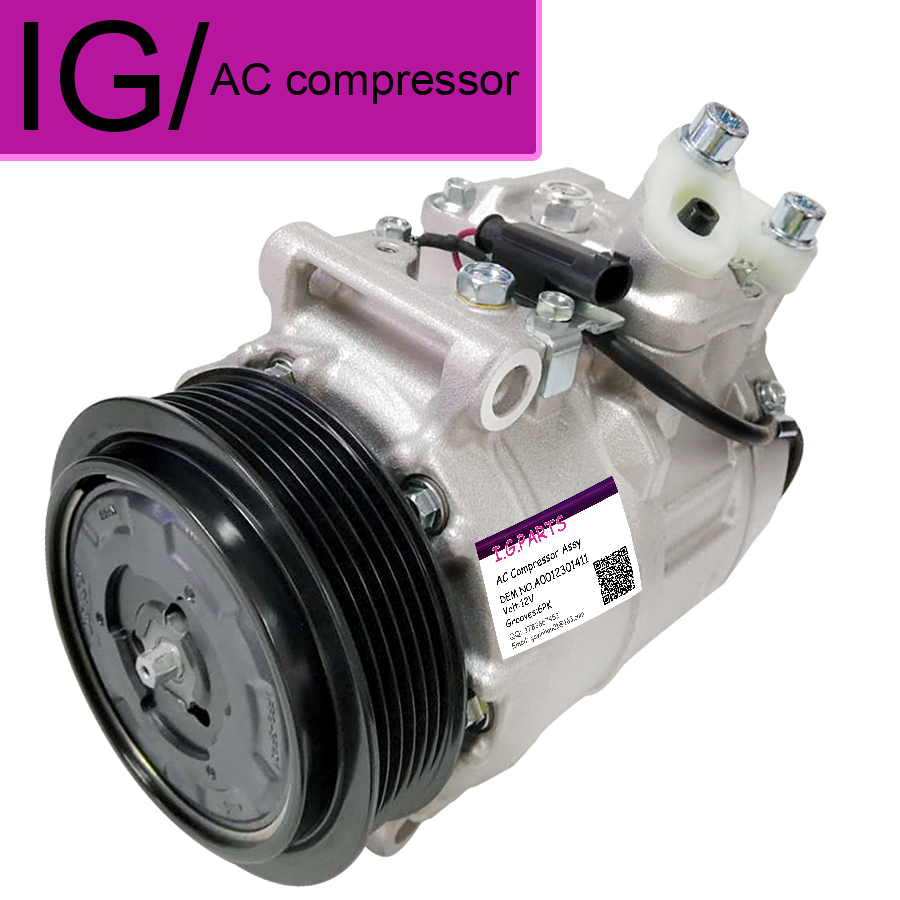 For Mercedes Benz W463G 500EG 320G AC Compressor 0022306511 A0002306511 A0002308011 A0002308111 0022306611 A0002308511|Air-conditioning Installation| |  - title=