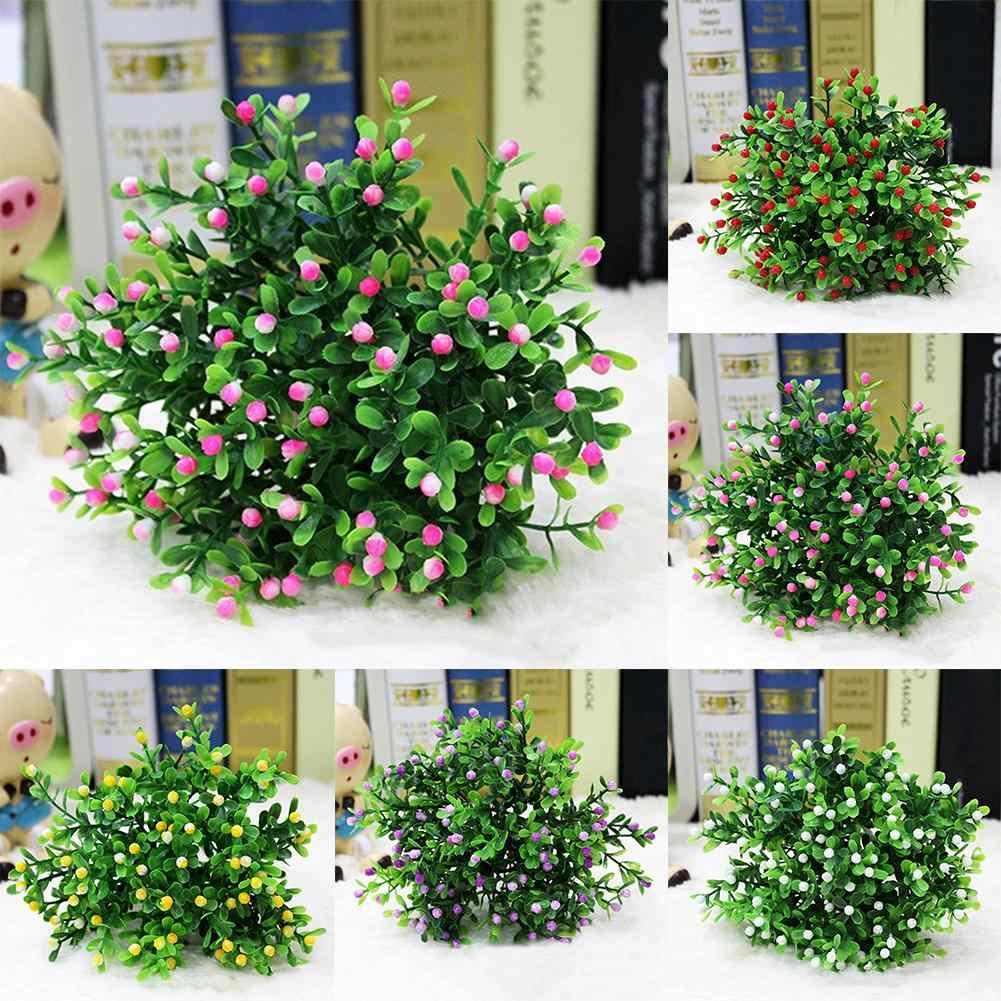 Neue 15 Köpfe/1 Bouquet Künstliche Aglaia Odorata Blume Hause Hochzeit Party Decor Künstliche Dekorationen Home & Garten