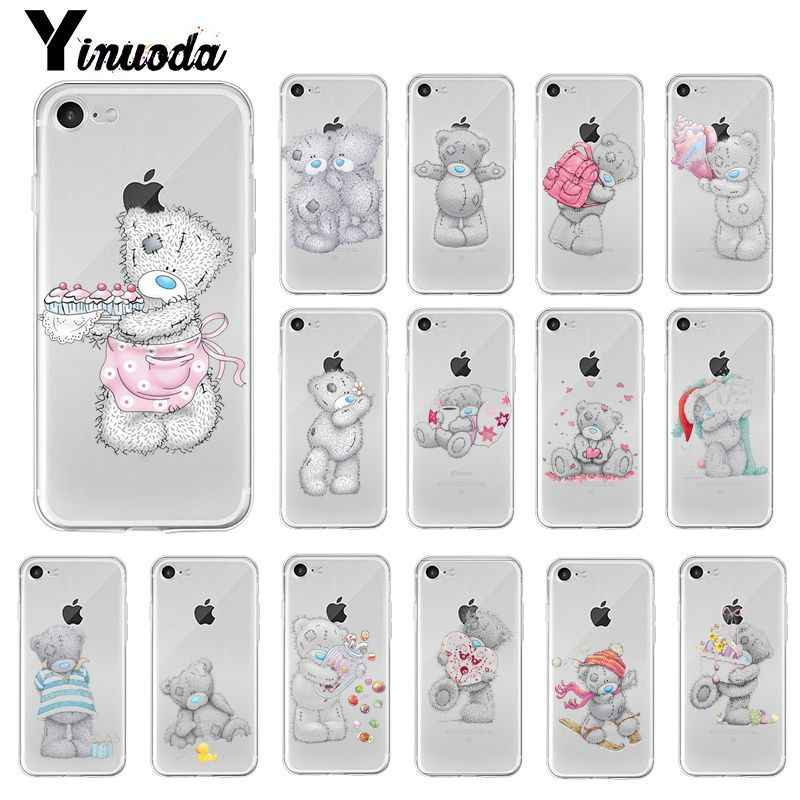 Yinuoda Tatty Teddy Me To You Bear Customer Phone Case Cover for iPhone X XS MAX  6 6s 7 7plus 8 8Plus 5 5S SE XR 10