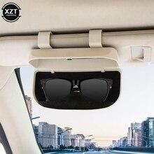 Car Glasses Case Sunglasses Storage Box 3 Colors Auto Interior Accessories Glasses Holder Sun Visor Automobiles 39mm thickness