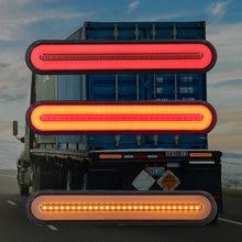 2x100 светодиодный тормозной светильник для прицепа грузовика