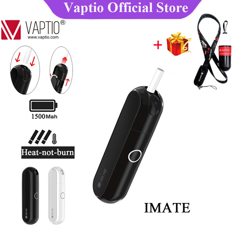 Original IMate Dry Herb Vape Kit 1500mAh Battery Smoke Herbal Electronic Cigarette Vaporizer Compatibility With Icos Stick