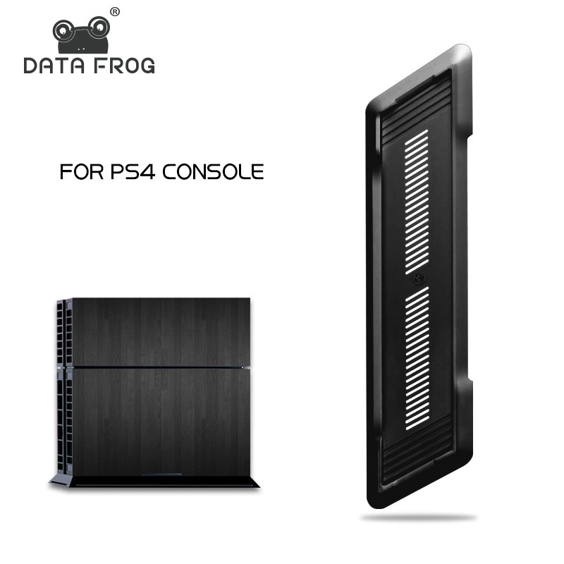 Data Frog Black Vertical Non-Slip Base Stand For Sony Playstation 4 Mount Holder For PS4 Console Accessories