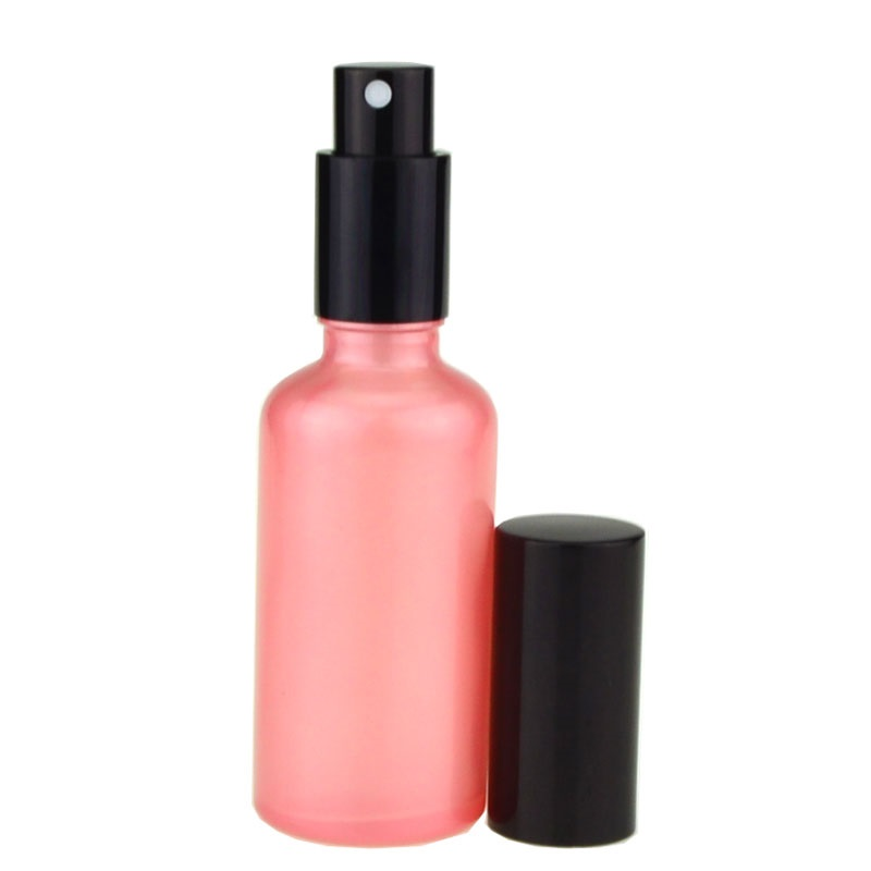 Empty 10ml 30ml 50ml <font><b>100ml</b></font> Perfume <font><b>Spray</b></font> Pump <font><b>Bottle</b></font> Glass Pink Makeup Packaging Refillable Emulsion Pump <font><b>Bottle</b></font> 15 pcs/<font><b>lot</b></font> image