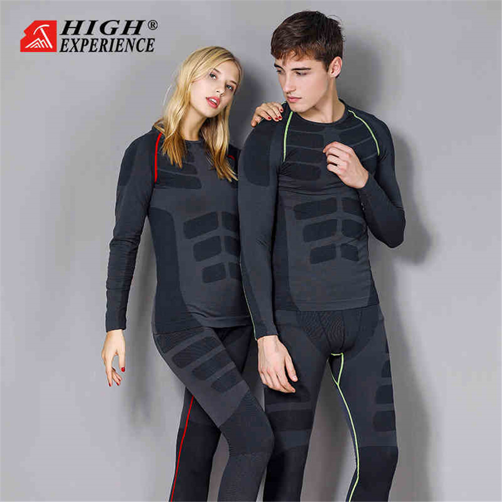 2019 Winter Thermal Underwear Men Ski Underwear Women Winter Underwear Men Thermal Snowboard Underwear Women Ski Suit Men Snow