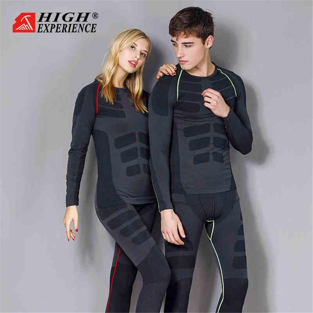 2019 Winter Thermal Underwear Men Ski Underwear Women Winter Underwear Men Thermal Snowboard Underwear Women Ski Suit Men Snow