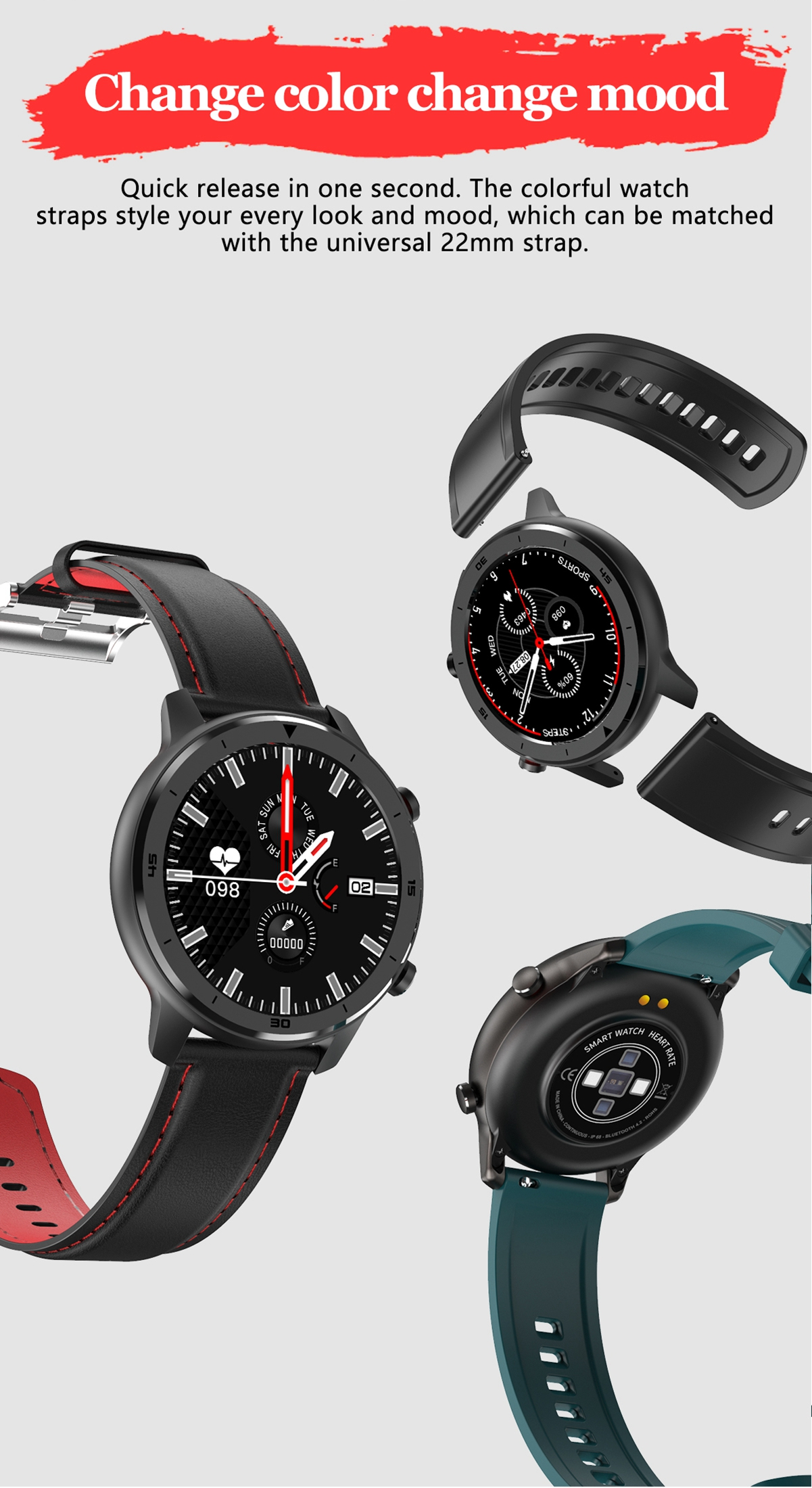 Smartwatches for men change color