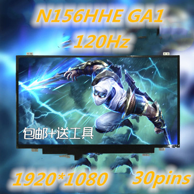 New for N156HHE-GA1 for MSI 15.6 laptops with 120hz 3ms  LCD Screen LED for