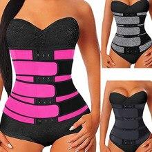 Three Belts Slimming Body Shaper Waist Cincher Trainer Belt Waisttrainer Waist-Trainer Waist Trainer Sauna Cincher Belt
