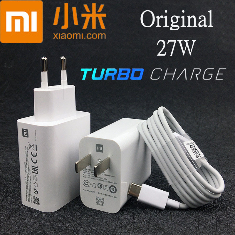 Xiaomi <font><b>27W</b></font> Fast <font><b>Charger</b></font> Original QC 4.0 Turbo Charge power adapter usb for <font><b>mi</b></font> 9 t pro 9se cc9 a3 note10 redmi note 7 8 pro max 3 image