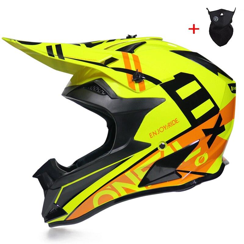 Professional Lightweight Motocross Helmet ATV Off Road Downhill Cross Capacete Da Motocicleta CascosDOT Approved-in Helmets from Automobiles & Motorcycles    1