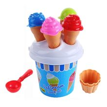 Premium New Funny Toys Set 13 Piece/ Beach Colourful Ice Cream and Cake Series sand Mould