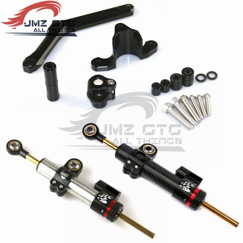 Motorcycle Accessories CNC Aluminum Alloy Steering Damper Stabilizer Mounting Bracket Kits For Benelli <font><b>BJ600</b></font> <font><b>BN600</b></font> image