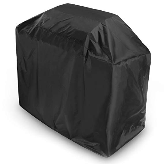 Outdoor Waterproof BBQ Cover BBQ Accessories Grill Cover Anti Dust Rain Gas Charcoal Electric Barbeque Grill Protection Black