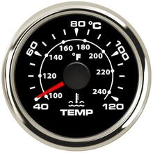 52 mm Car Water Temperature Gauge 40 120 Celsius Digital Thermometer Water Temp Gauge