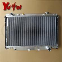 ALL ALUMINUM HIGH PERFORMANCE RADIATOR FIT FOR LAND CRUISER'93-98 48mm FZJ80G 16400-66030