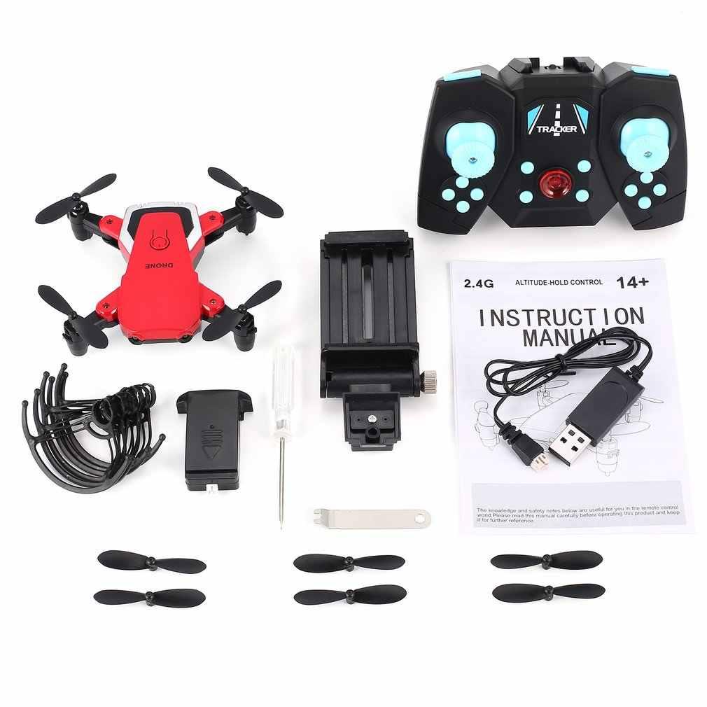 2019 808 ミニポケット折りたたみ FPV RC Quadcopter ドローンと 720P HD 調整可能な無線 Lan カメラリアルタイム高度保持ヘッドレスモード
