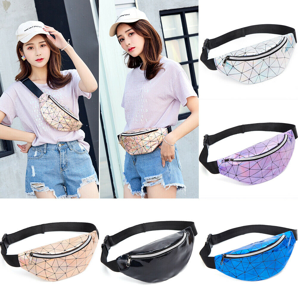 Mens Women Waist Bag Bum Fanny Pack Running Belt Money Pouch Hiking Travel Sport