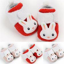 Baby First Walkers Cotton Baby Girl Shoes Soft Shoes For Babies Cartoon Baby Shoes Girls Boy First Walkers Buciki Dla Niemowlat(China)