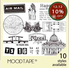 moodtape vintage clear stamp for DIY scrapbooking/photo album Decorative transparent stamp city lovely cute rubber stamp seal