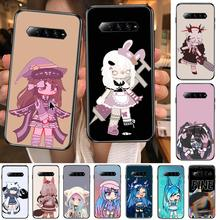 Social game Gacha Life case  Anime Phone Case For xiaomi Black Shark 2 3 3s 4 Pro Helo Black Cover Silicone Back Prett