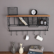 American type country is contracted iron art buy content worn kitchen bedroom one word shelving on the wall receives