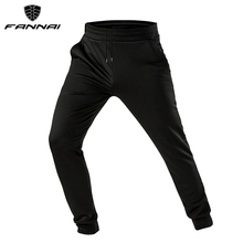FANNAI Men Running Pants with Pockets Athletic Soccer Jogging Pants Gym Training Sport Trousers Sportswear Joggers Rashgard цена 2017