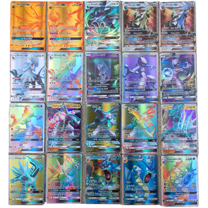 Image 2 - 100 300 stücke Englisch Glänzende Für Pokemones GX MEGA EX Karten Spielzeug Spiel Schlacht Carte Trading Charizard Sammlung Karte Kinder spielzeug