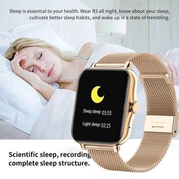 2021 Bluetooth-compatibleAnswer Call Smart Watch Women Men Full Touch Dial Call Fitness Tracker IP67 Waterproof Smartwatch women 5