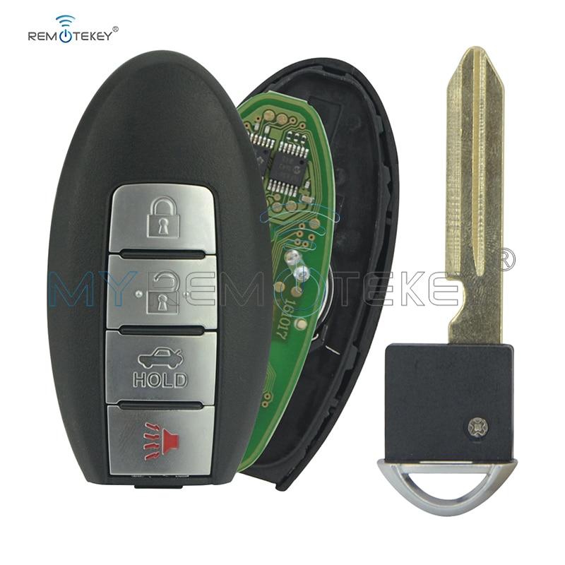 SMART KEY είσοδος χωρίς κλειδί απομακρυσμένος πομπός fob PROX KR55WK49622 για NISSAN ALTIMA MURANO remtekey