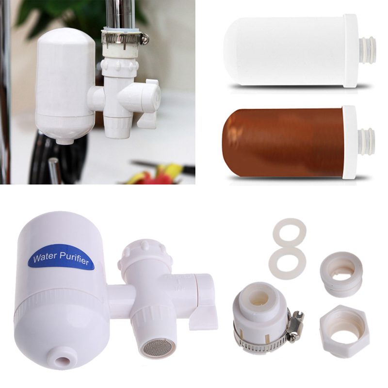 Home Kitchen Cleanable Ceramic Cartridge Faucet Tap Water Clean Filter Purifier Dropship