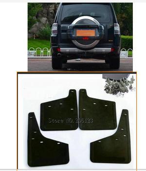 For Mitsubishi Pajero Montero 2007 - 2016 Car Front & Rear Mud Fender Flaps Splash Guards Mudflaps Mudguard 4PCS