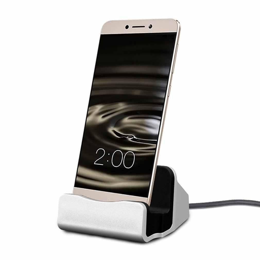 Universal USB 3.1 Typ-C Sync Charging Dock Station w/Kabel für Verschiedene Telefon Typ C stehen Desktop Daten sync Ladegerät