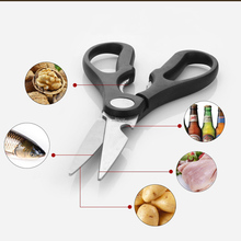 Scissors Shears-Tool Vegetable Stainless-Steel Home for Chicken Poultry BBQ Handmade