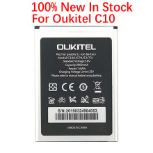 100% Original 2000mAh C 10 Battery For Oukitel C10 Mobile Phone In Stock High Quality +Tracking Number