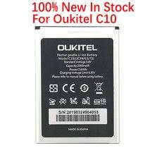 100% Original 2000mAh C 10 batterie pour téléphone portable Oukitel C10 en Stock haute qualité + numéro de suivi