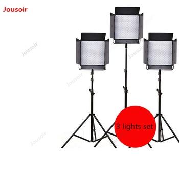 Photography Studio LED Photography Light 3 Light Set 40w High Brightness For Studio Fill Light Micro Movie Portrait CD50 T07