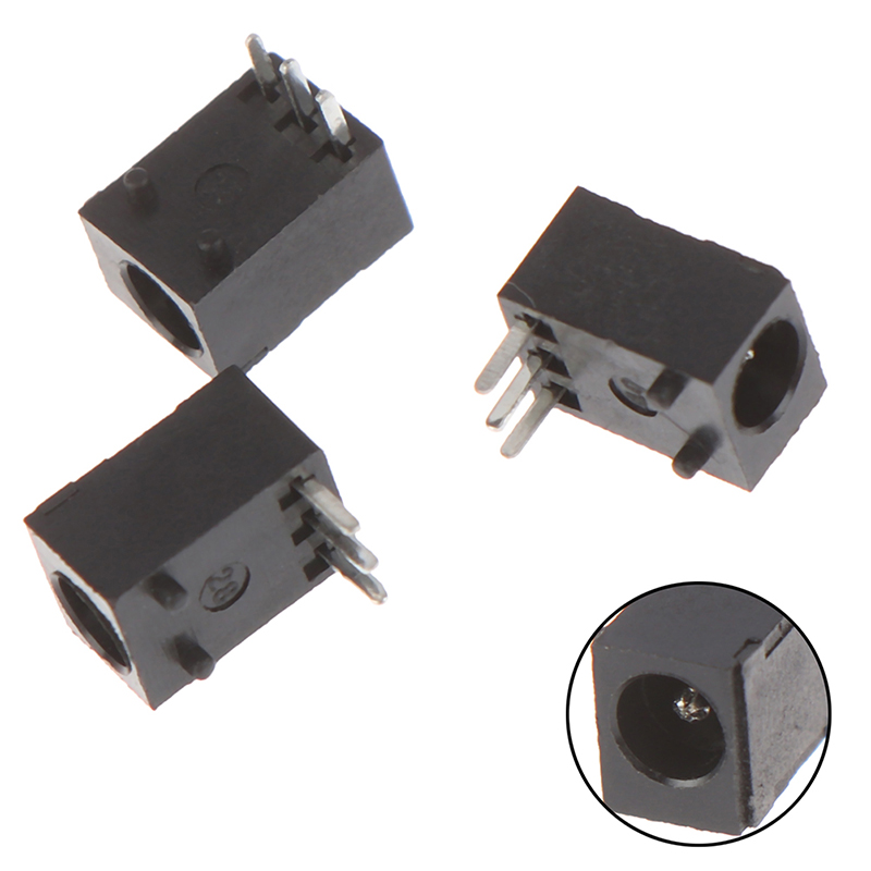 10pcs DC-003 3.5*1.3mm DC Power Jack Socket Connector 3-Pin Panel Mount PlugS.BE