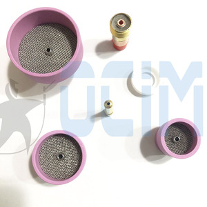 Image 5 - tig welding torch Ceramic Nozzle Cups +Strainer Mesh+Collet+Gas Lens For WP9/20
