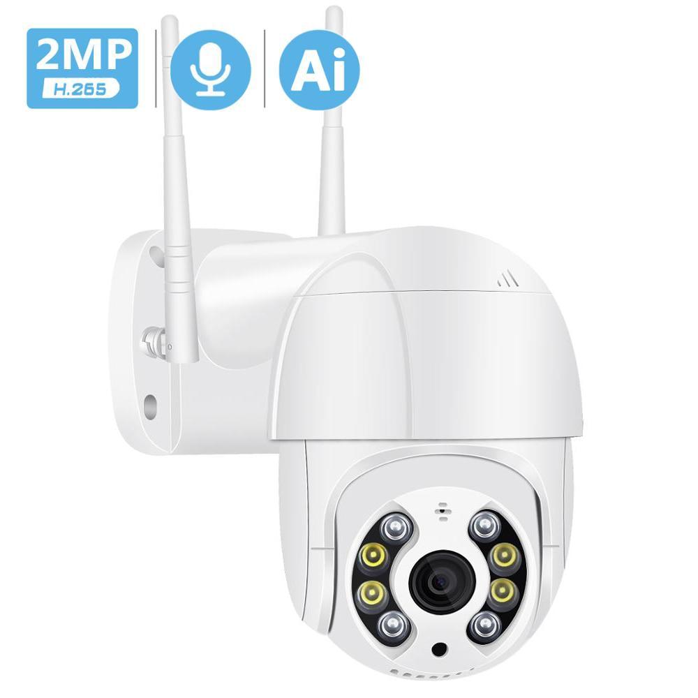 2018.27руб. 50% СКИДКА|1080P PTZ IP камера Wi Fi Облачное хранилище движения голосовое оповещение 2MP CCTV камера цветной ИК светильник Ai аудио камера видеонаблюдения|Камеры видеонаблюдения| |  - AliExpress