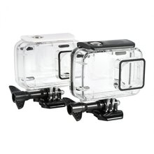 Underwater 45m Waterproof Protective Housing Case For Xiaomi Yi 2 4k Action Camera раклетница steba rc 4 plus deluxe