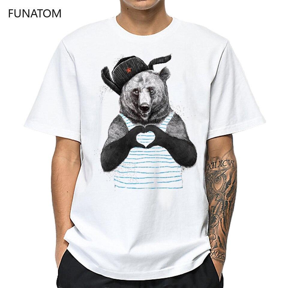 Bear Casual Mens O-neck T Shirts Fashion Men's Tops Men T-shirt Short Sleeve Men Tshirt 2019