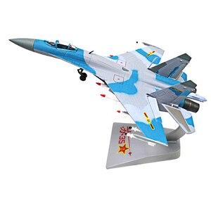 Image 2 - 1/72 échelle alliage combattant Sukhoi Su 35 avion de larmée de lair chinoise modèle jouets enfants enfants cadeau pour Collection