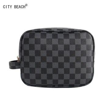 CITY BEACH MEN&WOMEN COSMETICS BAG HIGH-CAPACITY TRAVEL TOILETRY STORAGE MAKEUP  HOT S