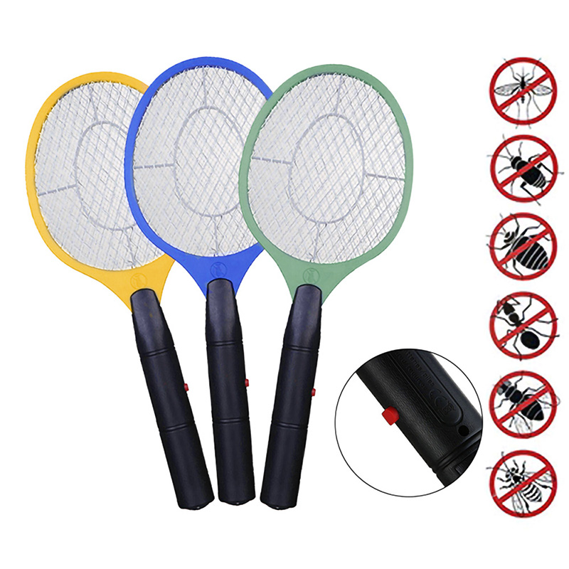 NEW Electric Mosquito Swatter Anti Mosquito Fly Repellent Bug Insect Repeller Reject Killers Pest Reject Racket Trap Home Tools