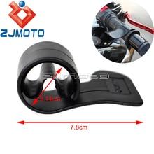 ZJMOTO абсолютно черный пластик мотоцикл дроссельной заслонки помощь круиз ручки управления подставка для запястья для стандартных ручек