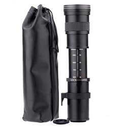 420-800mm F/8.3-16 Telephoto Zoom Lens for Nikon DSLR Camera D5100 D5300 D5200 D7500 D3300 D3400 D3200 D90 D7200 D5600 D3X